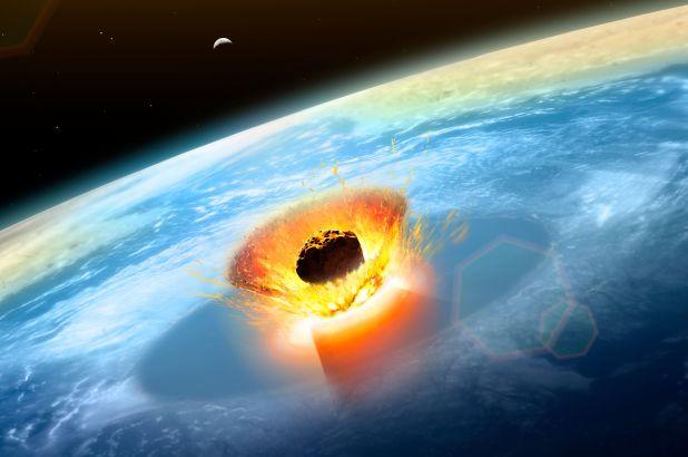 ماذا سيحدث لو إصطدم نيزك بكوكب الأرض ؟